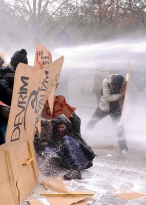 Studentenprotest Ankara
