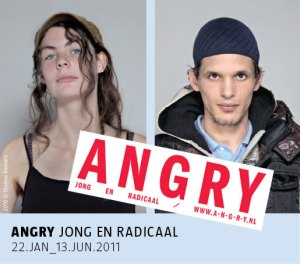 A recent art exhibition of attempts to inform the public about the motivation of the young to get radical and protest.