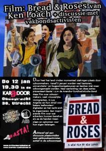 KSU Presenteert Basta! Film - Bread and Roses van Ken Loach